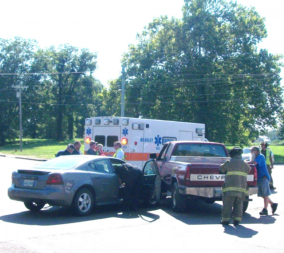 Minor Injuries Reported In Two-car Collision