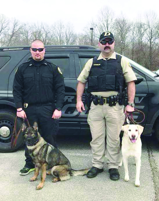 DPD Officers complete Dog Handler Course