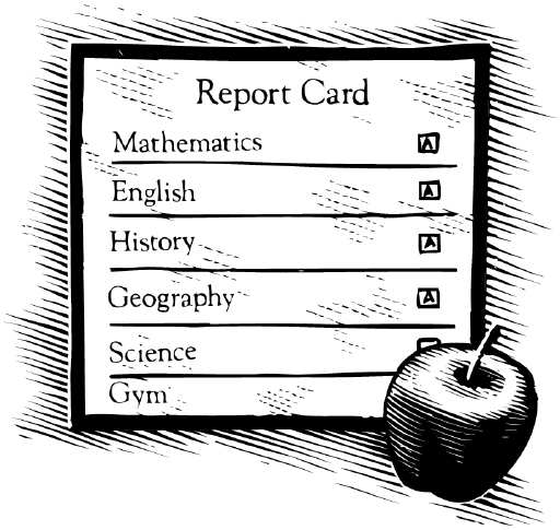Report Cards (subjects)