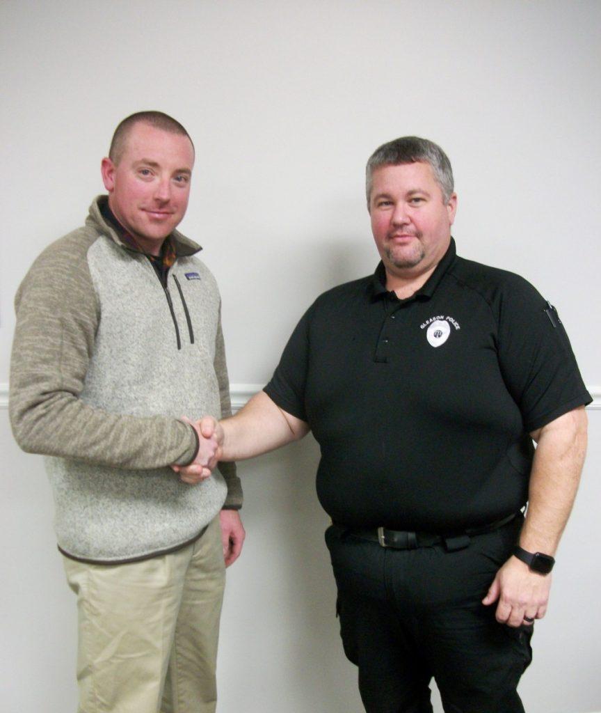 Gleason Police Chief - Paul Eddlemon (JPEG)