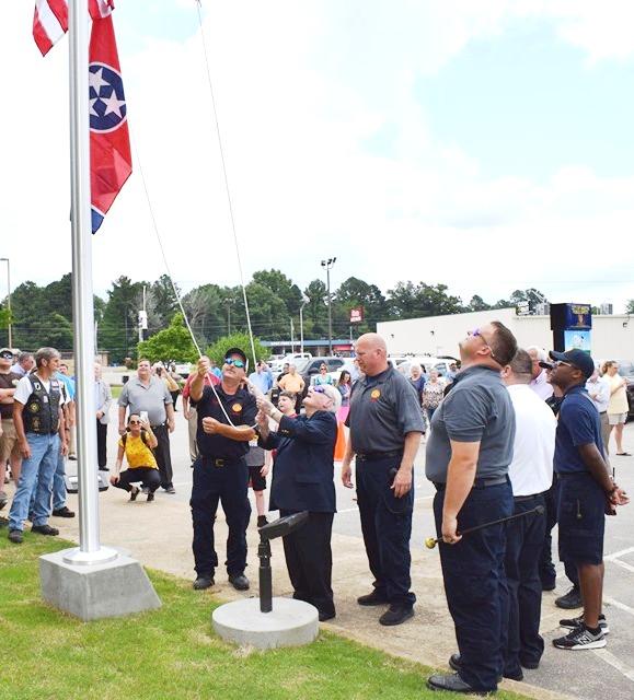 Flag Raising (Mr. Boyd) #1