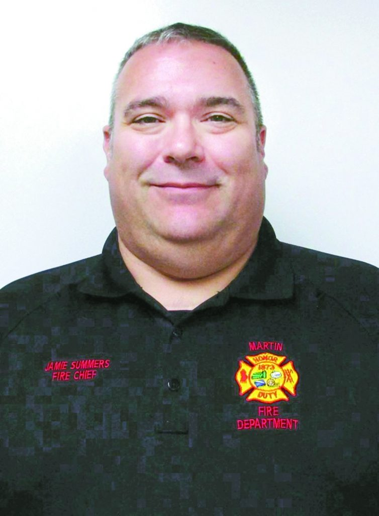 Jamie Summers - Martin Fire Chief #1