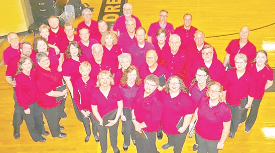 Members of the David Johnson Chorus are offering upcoming concerts as part of their Farewell Tour after delighting audiences near and far for more than two decades. A Christmas concert is planned for 7 p.m. Saturday, December 5 at Sharon First Baptist Church.