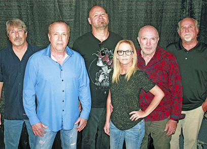 """""""The Side Effects"""" band will perform at Wilson Park in Dresden on July 3 during the city's Fourth of July celebration, which will also feature food, games and a fireworks show. The band members are (L to R): Ken Robinson, Mike Peery, Rusty Jackson, Mandy Henley, Wes Henley and Larry Davis."""