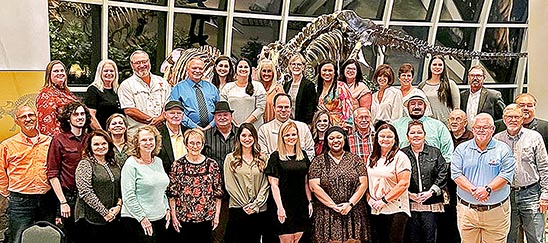 Discovery Park of America recently recognized its employees with five and 10 years of service to the museum.